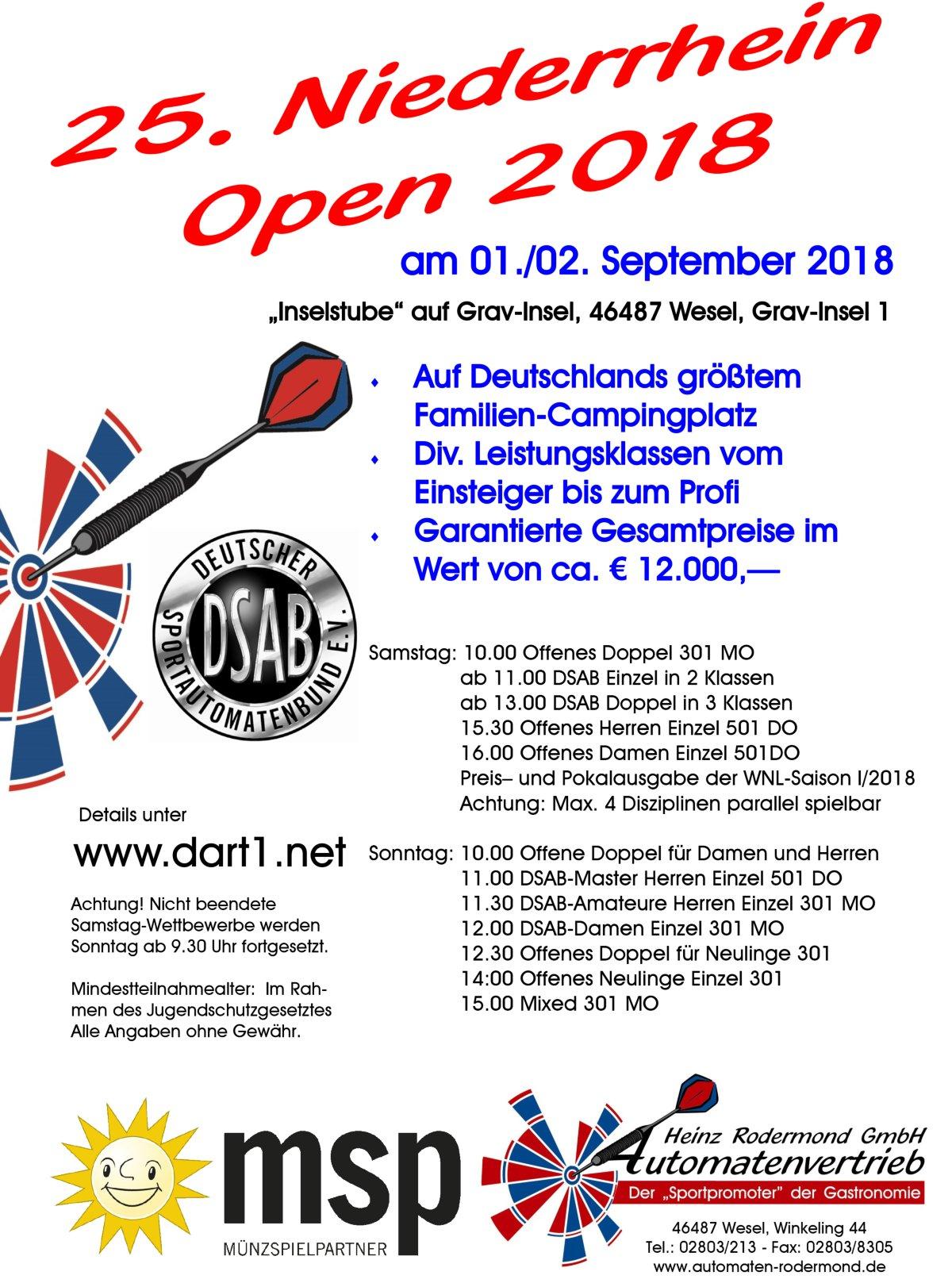 Niederrhein Open 2018